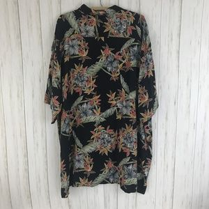 Pierre Cardin Shirts - Pierre Cardin Mens Size 2X Black Hawaiian Shirt